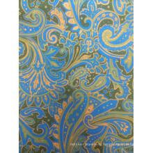 Tissu en polyester poli en Chine avec un bon prix