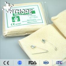 Diseño moderno vendaje triangular gasa algodón CE y FDA