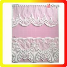 Factory supplied for Embroidered Tulle Fabric White lace trimming decroative wedding clothes export to Italy Exporter