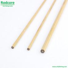 6ft 3wt Mão Feito Splitted Tonkin bambu Fly Rod em branco