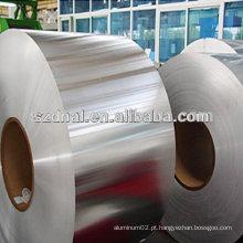 Bobina de metal de alumínio e alumínio 5754 para construção