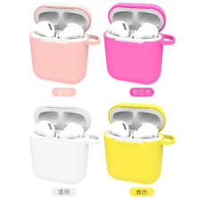 Airpod Accessories Silicone Cover Chaîne anti-perte