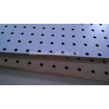 peg board/perforated board/holed board mdf material or hardboard