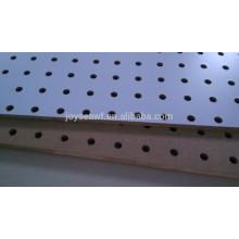 Placa do peg / placa perfurada / material furado do board mdf ou placa dura