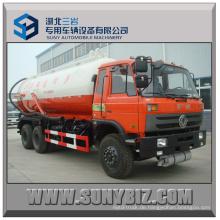 16cubic ~ 20 Cubic 6X4 6X6 Vakuum Abwasser saugen Tank LKW