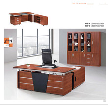 High quality latest Melamine MDF wooden fashion modern office table 05