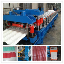 Step Roof Tile Roll Forming Machine