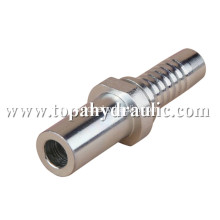 Air metric swivel hydraulic flexible hose barb fittings