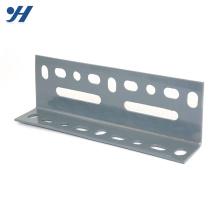 Graphique de poids de fer d'angle perforé inégal enduit par zinc de structure métallique de cintrage à froid