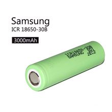 Icr18650-30b Ion de litio verde recargable 18650 3.7V 3000mAh batería del Li-ion
