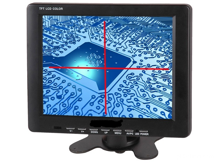 8 inch with cross line monitor
