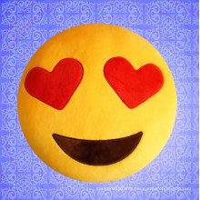 ICTI BSCI Complied emoji stuffed plush soft toy pillow