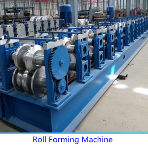 Produktif tinggi Guardrail Roll Forming Machine