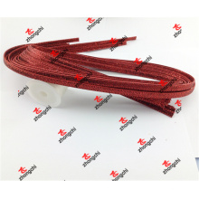 PU Red Glitter Leather Strap for 8mm Slide Charms (LGL50919)