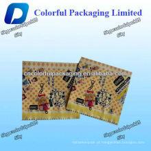 Mini aluminum foil Sugar/candy packaging bag /candy custom packaging bag