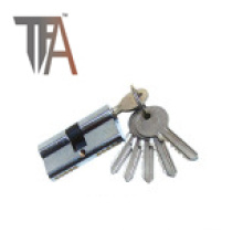 Two Side Open Lock Cylinder with Five Normal Keys