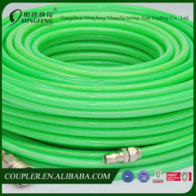 High quality high pressure flexible green rubber hose