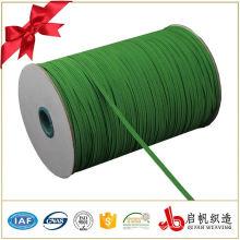 Buntes geflochtenes elastisches Gewebe für Kleiderbeutelschuhe