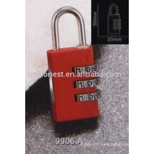 digital combination padlock