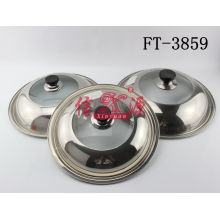 Stainless Steel Transparent Pot Cover (FT-3859)