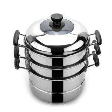 ChaoZhou stainless steel Multilayer steamer pot