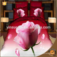 UAE market high quality soft print 3D bedding sets,polyester bedding set
