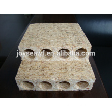 door core usage hollow core particle board/tubular chipboard