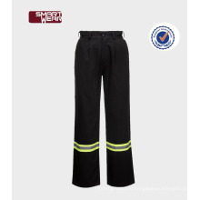 Bon marché coutume bon marché uniformes pantalons de travail avec bande réfléchissante