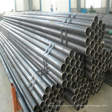 Good Quality--ERW Welded Carbon Black Structure Transportation Steel Pipe
