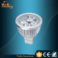 Lámpara de reflector LED de alta luminosidad y disipación de calor de plata