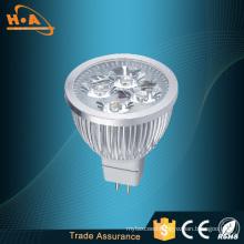 High Luminous Heat Dissipate Silver LED Spotlight Lamp
