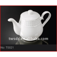 Crockery tea pot for hotel & restaurant (No.T0024)
