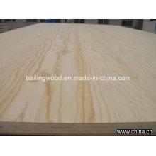 Uso comercial da madeira compensada do folheado do pinho para a mobília