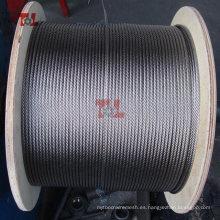 Cuerda de alambre fino de acero inoxidable