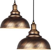 LED Pendent Lighting Metal Vintage Iron Lampshade Chandelier  Pendant Light