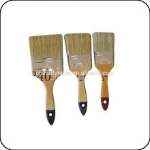 Щетка краски с деревянной ручкой