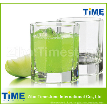 Klares transparentes Trinkglas-Wasser-Cup 290ml