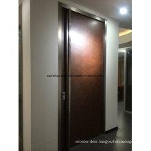 Leathere Interior Door Panel, Cappuccino Leather Effect Door
