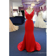 Sexy Satin Beading Mermaid Evening Dress Party Cocktail Dress