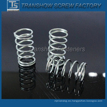Resorte de compresión de acero de alta calidad con precio competitivo