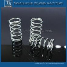 Ressort de compression en acier de haute qualité à prix concurrentiel