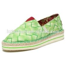 Cheap espadrille shoes thick sole espadrille casual shoes