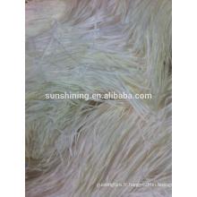 100% 2000den raffia blanche blanche et terne tout corolle