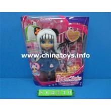 Venda quente o mais recente brinquedo do bebê boneca de brinquedo de plástico (864410)