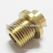 hot sale machine part galvanzied brass threaded rubber bushing