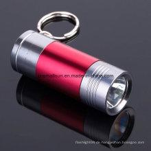 Tragbare Schlüsselanhänger Taschenlampe mit Li-Ionen-Akku