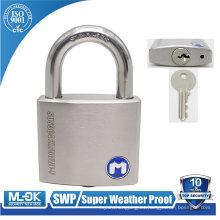 Candado irrompible MOK locks W207 / 50WF con cuerpo SUS304 fabricado por la mejor compañía de cerraduras