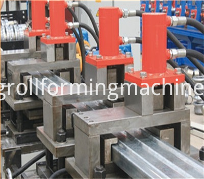 Stereo Garage Bottom Plate Roll Forming Machines