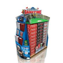 Pop Karton Display Stand, Store Display Regal