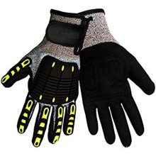 EN388 Certificate Safety Work Level 5 Cut Resistant Impact Gloves